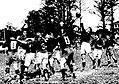 Championnat de France de rugby 1930, balle de touche, récupération quillanaise.jpg