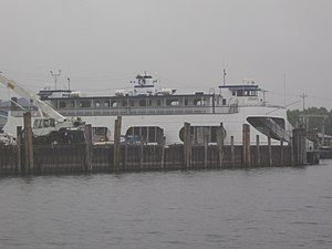 Lake Champlain Transportation Company - An LCTC ferry on the Burlington-Port Kent route