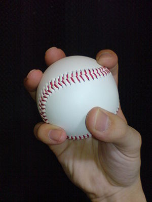 Changeup - The grip used for a changeup