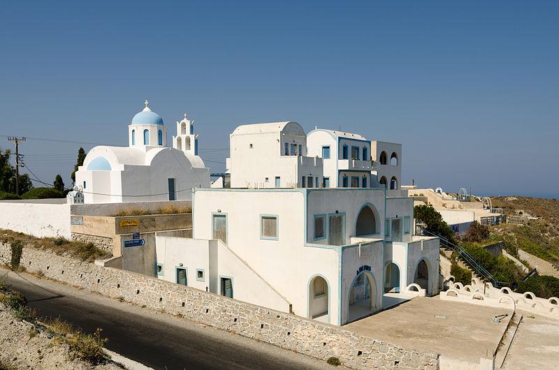 File Chapel And A Nemos Near Athinios Port Santorini Greece 01 Jpg Wikimedia Commons