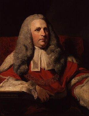 Charles Pratt, 1st Earl Camden - Sir Charles Pratt by Joshua Reynolds.