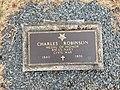 Charles Robinson Grave, Holy Cross Cemetery, Halifax, Nova Scotia.jpg