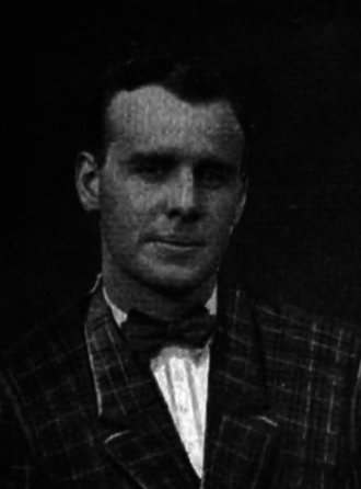 Charles B. Crawford - Crawford pictured in Corks and Curls 1916, Virginia yearbook