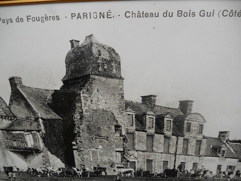 Fichier Chateau du Bois Guy, Parigné (35) JPG u2014 Wikipédia # Chateau Du Bois Guy