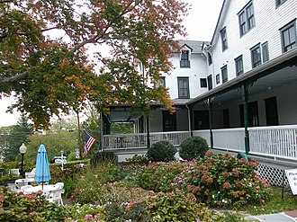 Shelter Island Heights Historic District - Chequit Hotel in Shelter Island Heights, October 2008