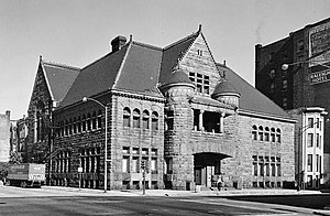 Former Chicago Historical Society Building - HABS image from 1963