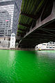 Chicago River dyed Green.jpg