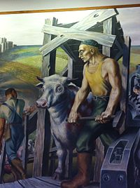 Chicagos Lakeview post office mural right side.JPG