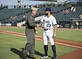 Chief of Naval Air Training Rear Adm. Dan Dwyer throws out first pitch during Corpus Christi Hooks game.jpg