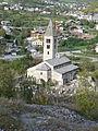 Chiesa di Santa Maria Assunta vista da Chatelargent.JPG