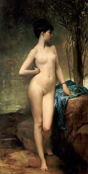 Young and Jackson Hotel - Chloé by Jules Joseph Lefebvre