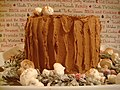 Chocolate Stump de Noel with meringue mushrooms.jpg