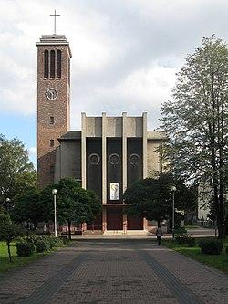 Chorzow Batory Sacred Heart church.jpg