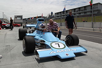 Chris Amon Racing - Chris Amon in the AF101 at the NZ Festival of Motor Racing 2011