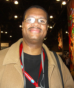 ChrisCross - ChrisCross at the New York Comic Con in February 2008.