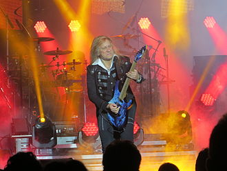 Chris Caffery - Chris Caffery playing with the Trans-Siberian Orchestra in 2014