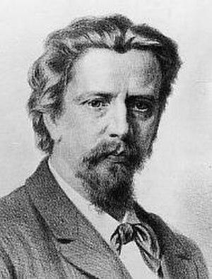 Christian Griepenkerl - Christian Griepenkerl in 1882