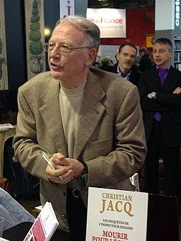 Christian Jacq, au Salon du Livre de Paris 2013 (8594182587)