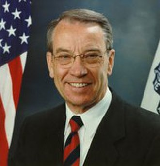 United States Senate Committee on the Judiciary - Republican Senator from Iowa, Chuck Grassley, has been Chairman of the Senate Judiciary Committee from 2015-present.