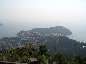 Chung Hom Kok - View of Chung Hom Kok from Wilson Trail.