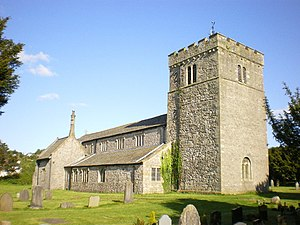 Grade I listed churches in Cumbria - Image: Church of St James, Burton geograph.org.uk 1308219