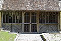 Church of St Mary the Virgin, Eastry, Kent - pentice porch on tower at west.jpg