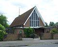 Church of St Teresa of the Child Jesus, Weldon Way, Merstham (June 2013).JPG