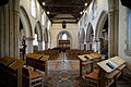Church of the Holy Cross Felsted Essex England - chancel and nave facing west.jpg