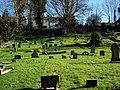 Churchyard at St Marys Church, Shrewton - geograph.org.uk - 328240.jpg