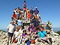 Cim Torreta de Montsià (grup que va fer un dels 100 Cims de la FEEC).JPG