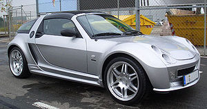 Smart Roadster - Smart Roadster Coupe Brabus.