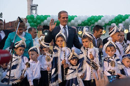 Circumcision ceremony, Skopje 2013 (19)