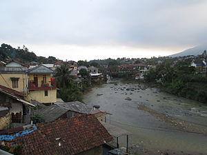 Cisadane River - River estuary near Stasiun Batutulis