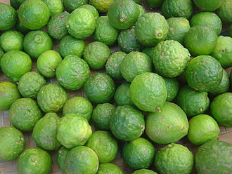 Lime (fruit) - Kaffir lime fruit