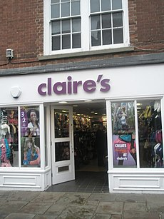 Claire's in North Street - geograph.org.uk - 1558702.jpg