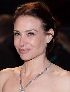 Claire Forlani British actress