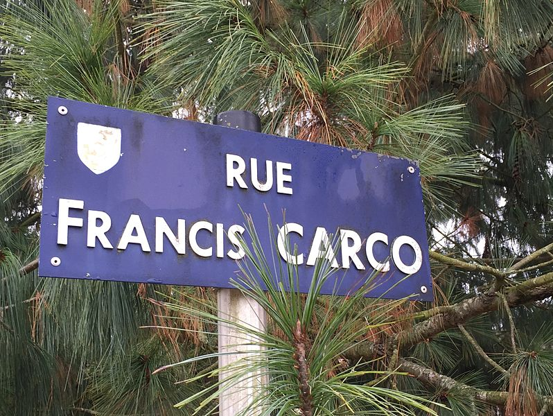 Rue Francis-Carco à Clamecy.