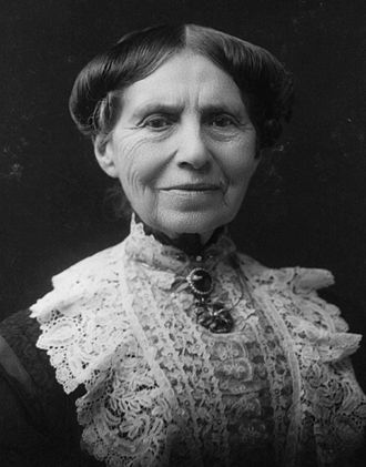 Clara Barton - Clara Barton photographed by James E. Purdy