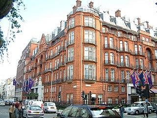Claridges hotel in Mayfair, London, England
