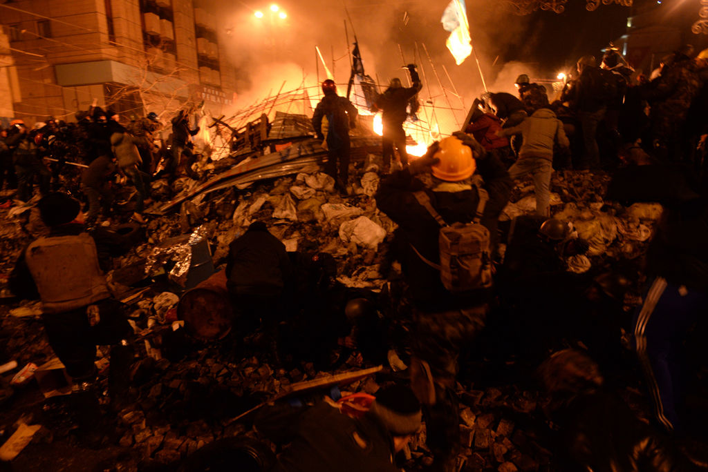 Clashes in Kyiv, Ukraine. Events of February 18, 2014-4.jpg