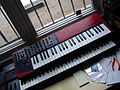 Clavia Nord Lead 2 on Yamaha DX7,.jpg