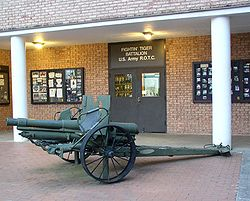 Clemson's rich military history is very conspicuous on campus.