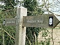 Close Up Peddars Way Sign - geograph.org.uk - 394699.jpg
