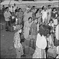 Closing of the Jerome Relocation Center, Denson, Arkansas. Jerome residents with their hand luggage . . . - NARA - 539816.jpg