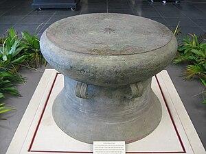 Cổ Loa Citadel - Image: Co Loa drums
