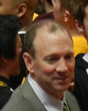 Dan Monson - Monson at the 2012 Big West Tournament