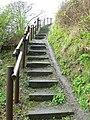 Coastal path stairway - geograph.org.uk - 1160009.jpg