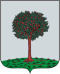 Coat of Arms of Lomonosov (Oranienbaum St Petersburg) (1780).png