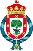 Coat of arms of Iñaki Urdangarín, Duke of Palma.svg