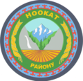 Coat of arms of Nookat district.png